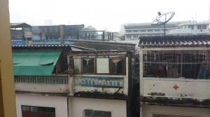 """Hotellimme Roof View Place Hotel näkymä parvekkeelta. Ei kai tästä näkymästä muuta todeta kuin että on mitä hotellli nimessään """"lupaa"""""""
